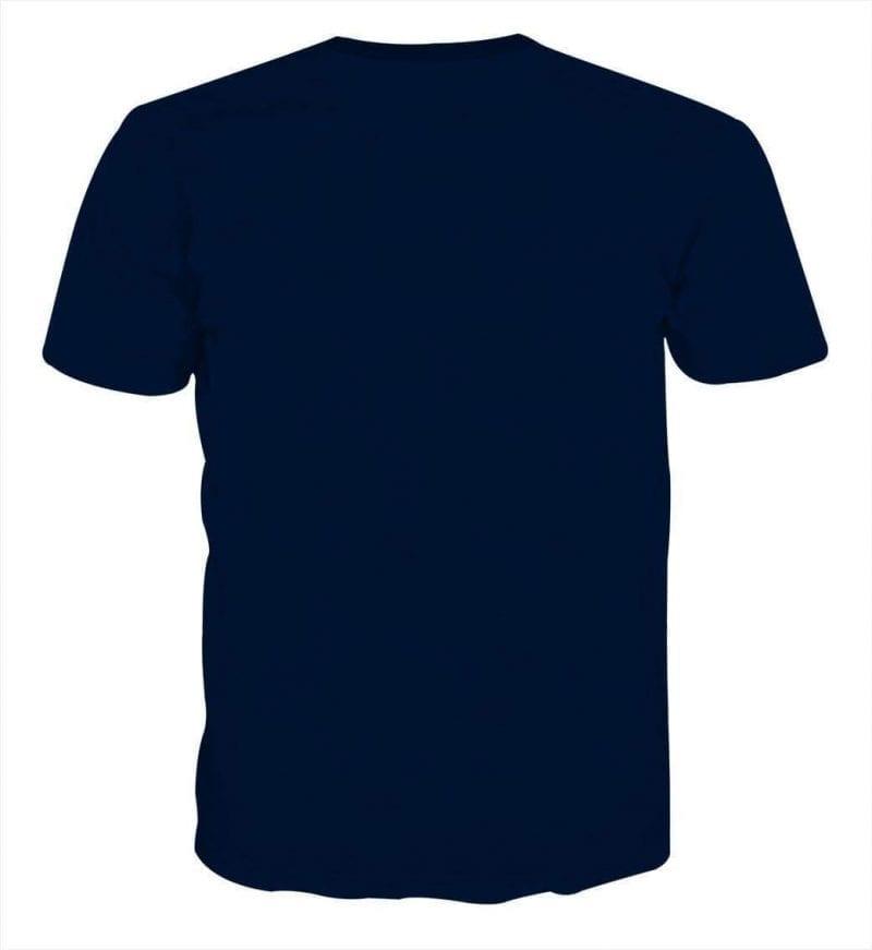 Naruto Uchiha Sasuke Sharingan Rinnegan Chidori Blue T-Shirt