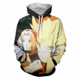 Naruto Ultimate Ninja Storm Sage Mode Full Print Hoodie