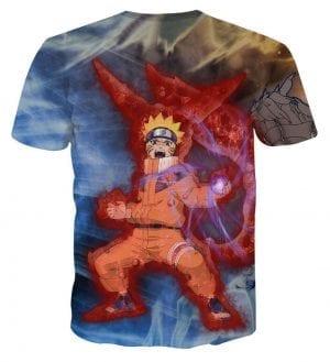 Naruto Uzumaki And Pain Anime Powerful Brilliant T-Shirt
