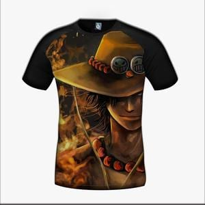 One Piece D Ace Pirate Hero Brother Fire Cool Design T-Shirt