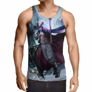 One Piece Dracule Mihawk Master Swordsman Hawk Eyes Tank Top