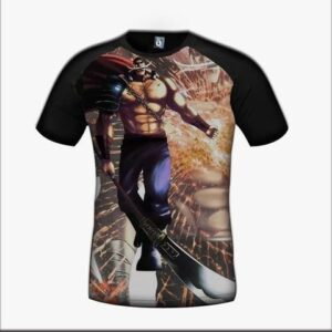 One Piece Edward Newgate White Beard Badass Design T-Shirt