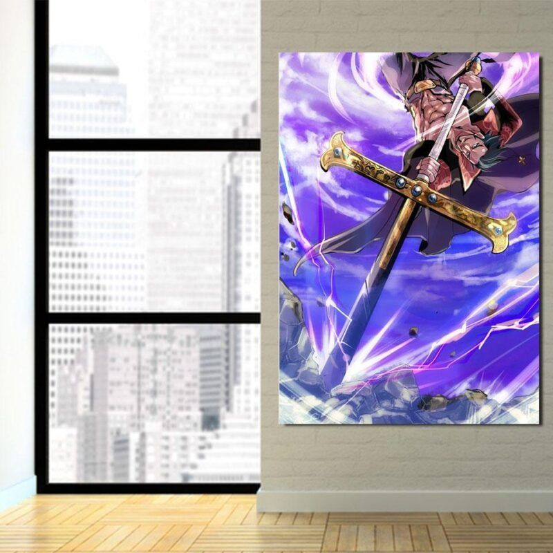 One Piece Shichibukai Dracule Hawk Eyes Mihawk 1pc Wall Art