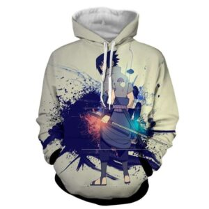 Sasuke Uchiha Art Work Design Japan Anime Dope Hoodie