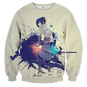 Sasuke Uchiha Art Work Design Japan Anime Dope Sweatshirt