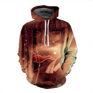 Uchiha Itachi Power Akatsuki Criminal Clan Sasuke Brother Trendy Hoodie
