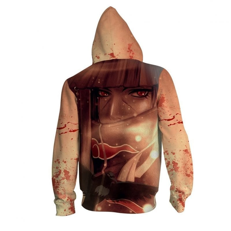 Uchiha Itachi Power Akatsuki Criminal Clan Trendy Hoodie