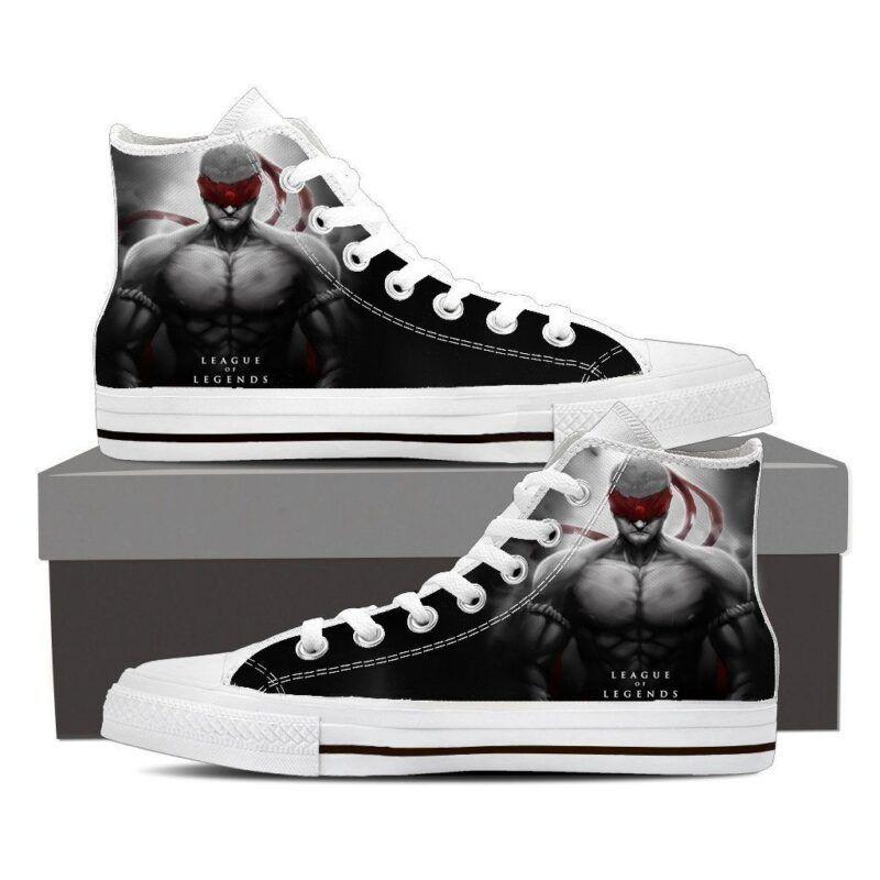 League of Legends Lee Sin Powerful Monk Design Sneaker Converse Shoes