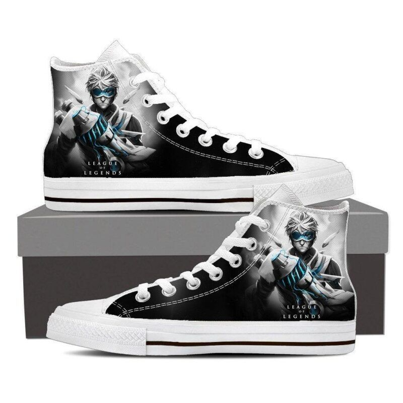 League of Legends Ezreal Prodigal Explorer Cool Sneaker Converse Shoes - Superheroes Gears