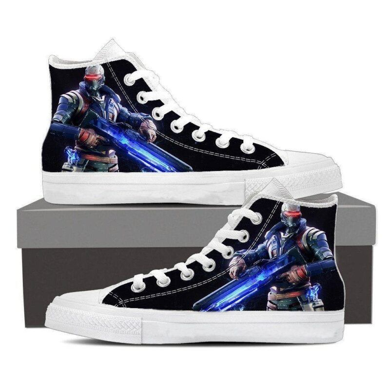 Overwatch Soldier 76 Jack Morrison Sneakers Converse Shoes