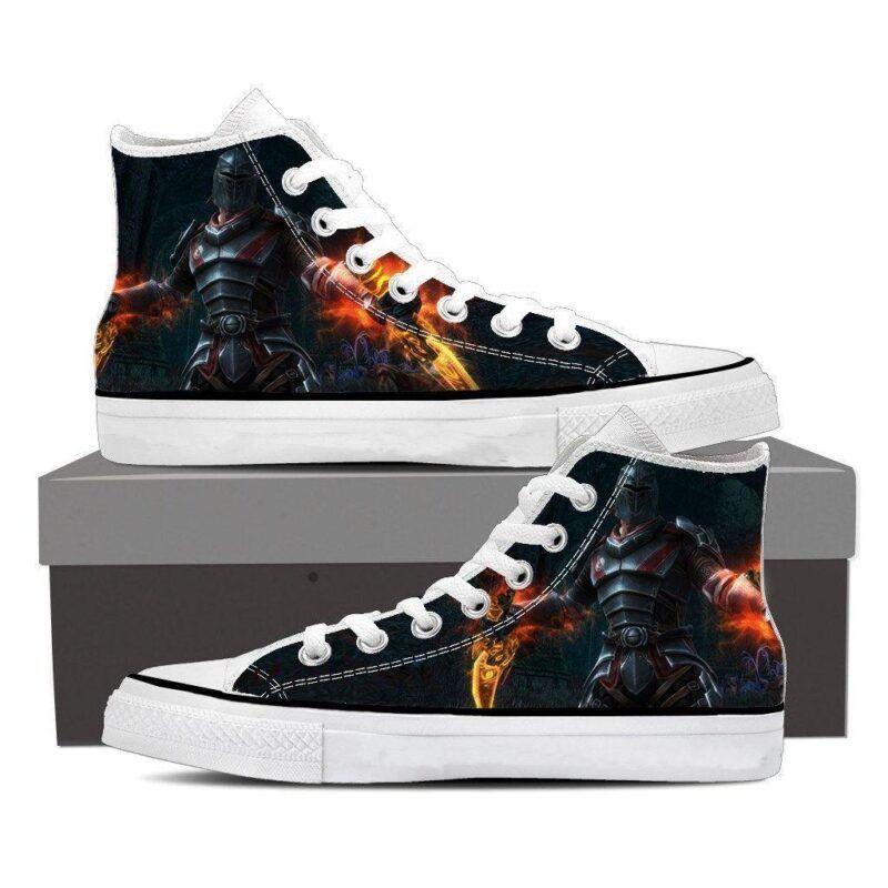 Kingdoms of Amalur Reckoning Armor Converse Sneaker Shoes - Superheroes Gears