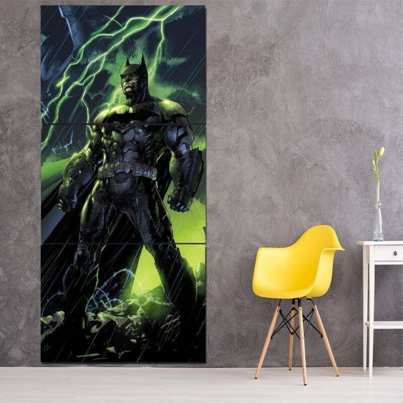 DC Comics Batman The Dark Knight Thunderlight  3 Pcs Canvas - Superheroes Gears