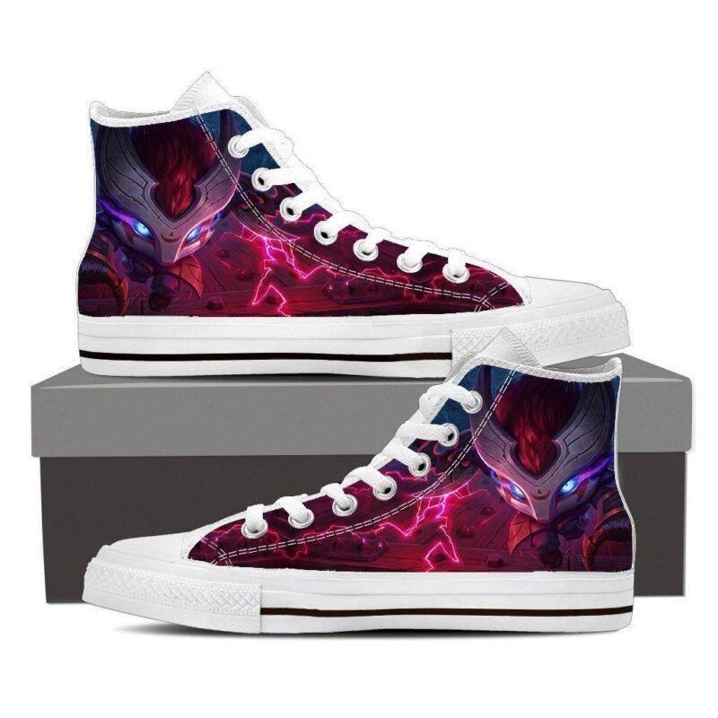 League of Legends Kennen Thundering Shuriken Cool 3D Converse Shoes