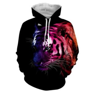 Amazing Ready To Attack Powerful Fierce Tiger Stylish Hoodie