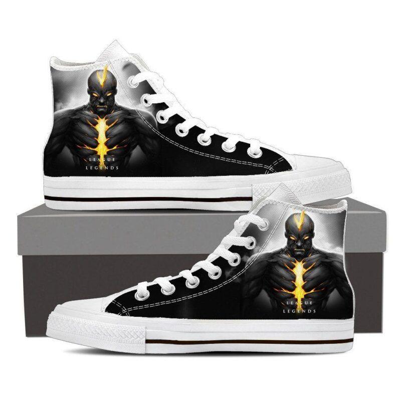 League of Legends Brand Burning Vengeance Sneaker Converse Shoes - Superheroes Gears