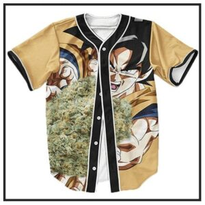 420 & Marijuana Baseball Jerseys