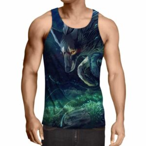 Amazing Forest Wolf Epic Vibrant Full Print Tank Top