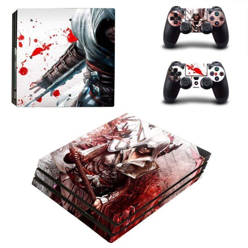 Assassin's Creed Ezio Auditore De Firenze PS4 Pro Skin