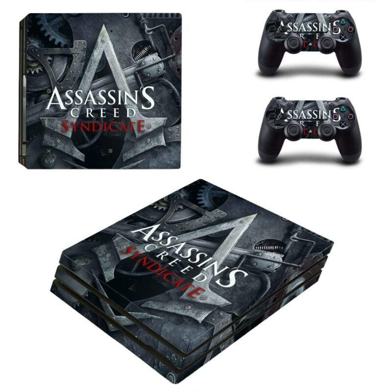 Assassin's Creed Syndicate Classic Epic Logo PS4 Pro Skin