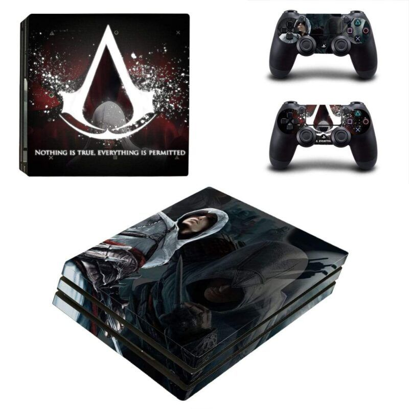 Assassin's Creed's Maxim And Primary Guideline PS4 Pro Skin