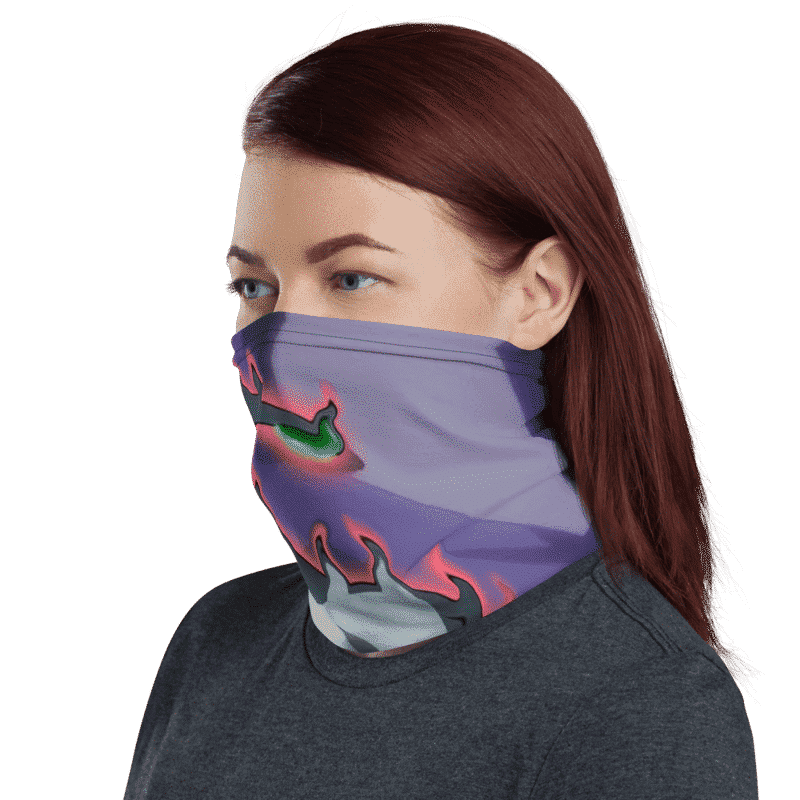 DBZ Gigantic Humanoid Agnilasa Face Covering Neck Gaiter