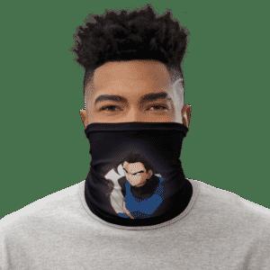 DBZ Shallot Awesome Art Black Face Covering Neck Gaiter