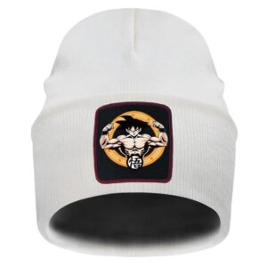 DBZ Son Goku Perfect Physique Beige Casual Winter Beanie
