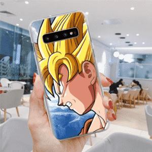 DBZ Super Saiyan Goku Cool Sideview Samsung Galaxy S10 Case