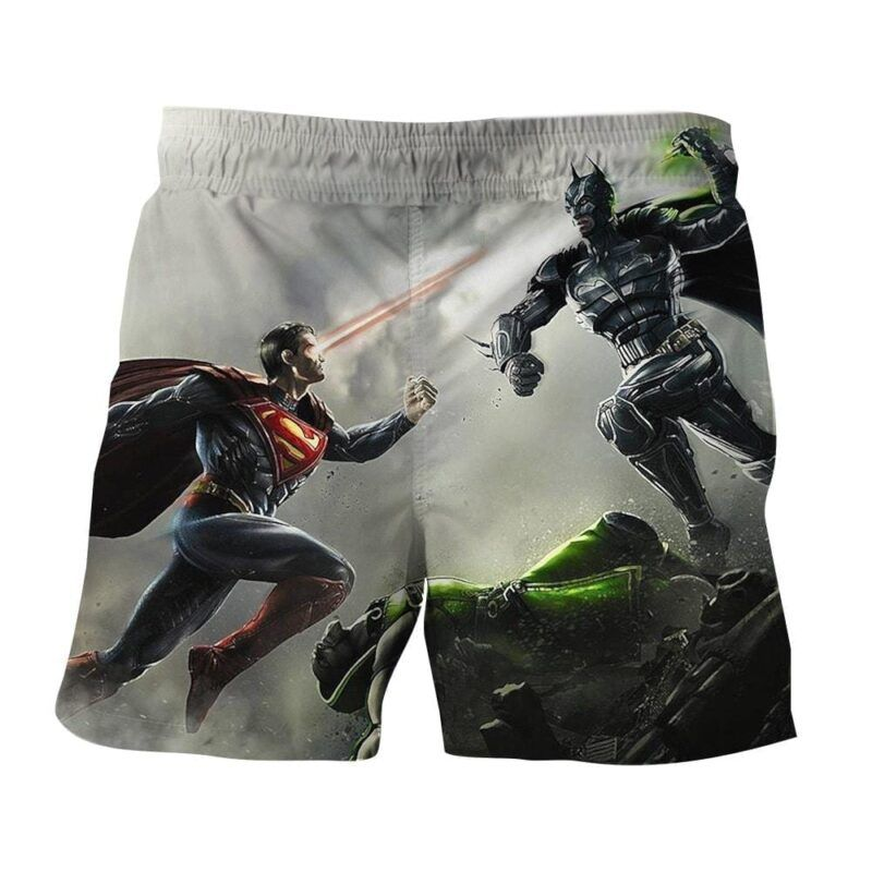 Dawn Of Justice Batman V Superman Design Boardshorts