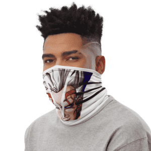 Dragon Ball Z Baby Vegeta White Face Covering Neck Gaiter