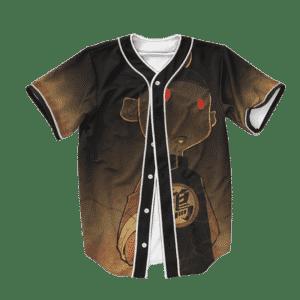 Dragon Ball Z Bad Ass Evil Chiaotzu Baseball Jersey