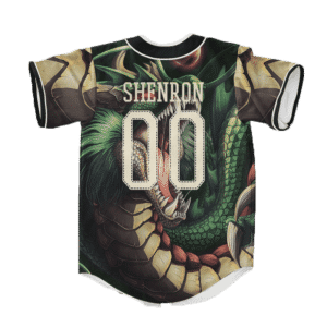 Dragon Ball Z Badass Shenron Cool Art Baseball Jersey