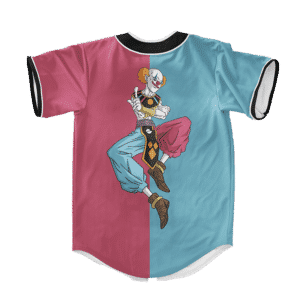 Dragon Ball Z Belmod Dope Blue Pink Baseball Jersey