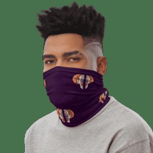 Dragon Ball Z Belmod Space Purple Face Covering Neck Gaiter