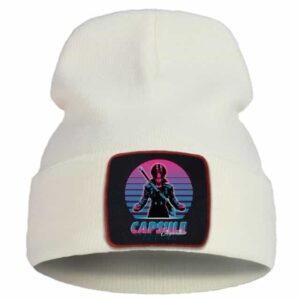 Dragon Ball Z Capsule Corp. Future Trunks Beige Beanie