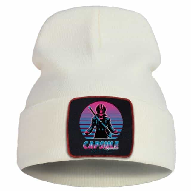 Dragon Ball Z Capsule Corp. Future Trunks Beige Beanie