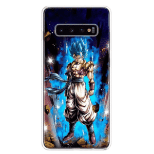 Dragon Ball Z Gogeta Blue Aura Samsung Galaxy S10 Case