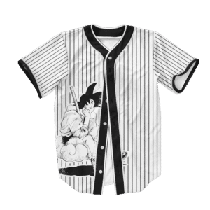 Dragon Ball Z Goku Art Cool Supreme Baseball Jersey