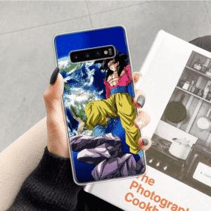 Dragon Ball Z Goku Super Saiyan 4 Samsung Galaxy S10 Case