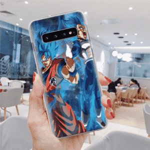 Dragon Ball Z Goku & Vegeta Power Up Samsung Galaxy S10 Case