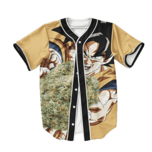 Dragon Ball Z Kamehame Kush Goku Cool Baseball Jersey