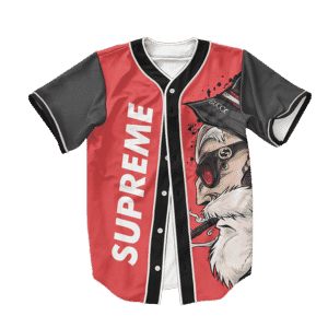 Dragon Ball Z Master Roshi Supreme Art Baseball Jersey