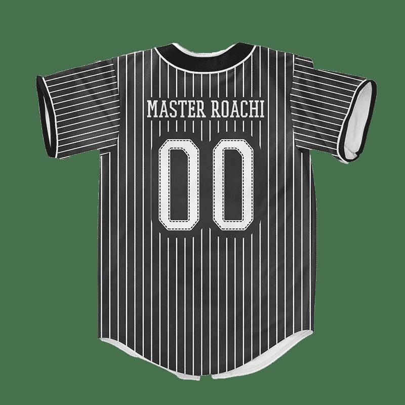 Dragon Ball Z Master Roshi Weed Beard Art Baseball Jersey