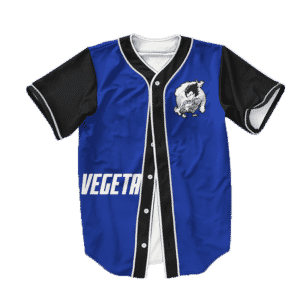 Dragon Ball Z Saiyan Vegeta Awesome Baseball Jersey