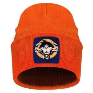 Dragon Ball Z Son Goku Kanji Symbol Orange Warm Casual Beanie