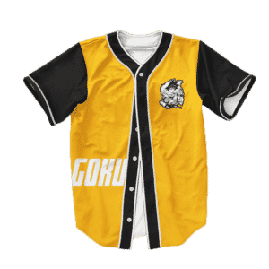 Dragon Ball Z Super Saiyan Goku Cool Baseball Jersey