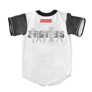 Dragon Ball Z Supreme Z Awesome Fighters Baseball Jersey
