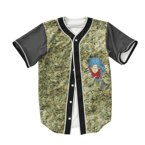 Dragon Ball Z Trunks Pool of Weed Art Baseball Jersey