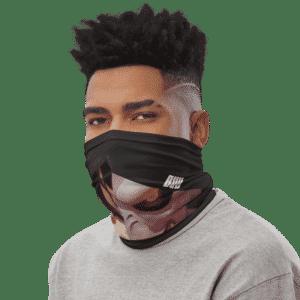 Dragon Ball Z Uub VS Majin Buu Black Face Covering Neck Gaiter