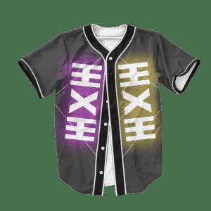 Dragon Ball Z Zeno Art Symbol Baseball Jersey